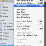 iPhoto - New Folder
